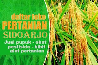 agen obat dan pupuk pertanian kabupaten Sidoarjo