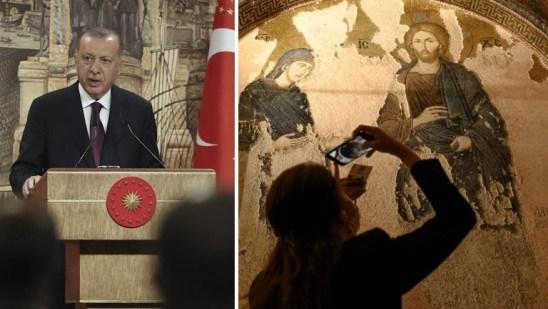 Turki ke Yunani: Jangan Kuliahi Kami, Kalian Juga Ubah Masjid Utsmaniyah Jadi Gereja