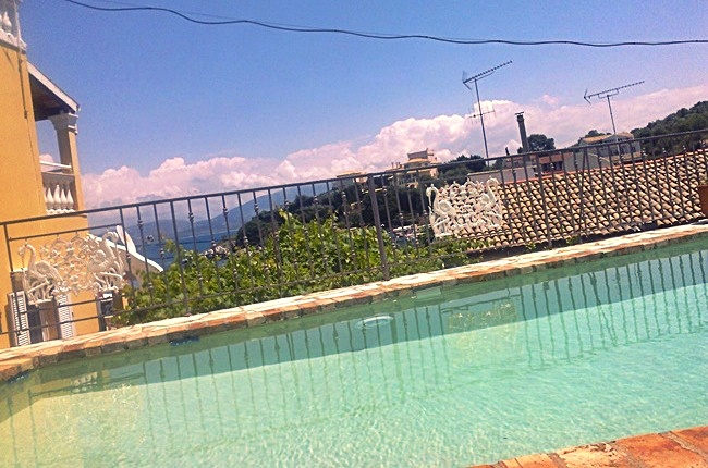 Kassiopi villas with pool