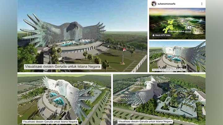 Tanggapi Desain Istana Negara Ibu Kota Baru, Guru Besar ITB: Kurang Pas, Tidak Etis