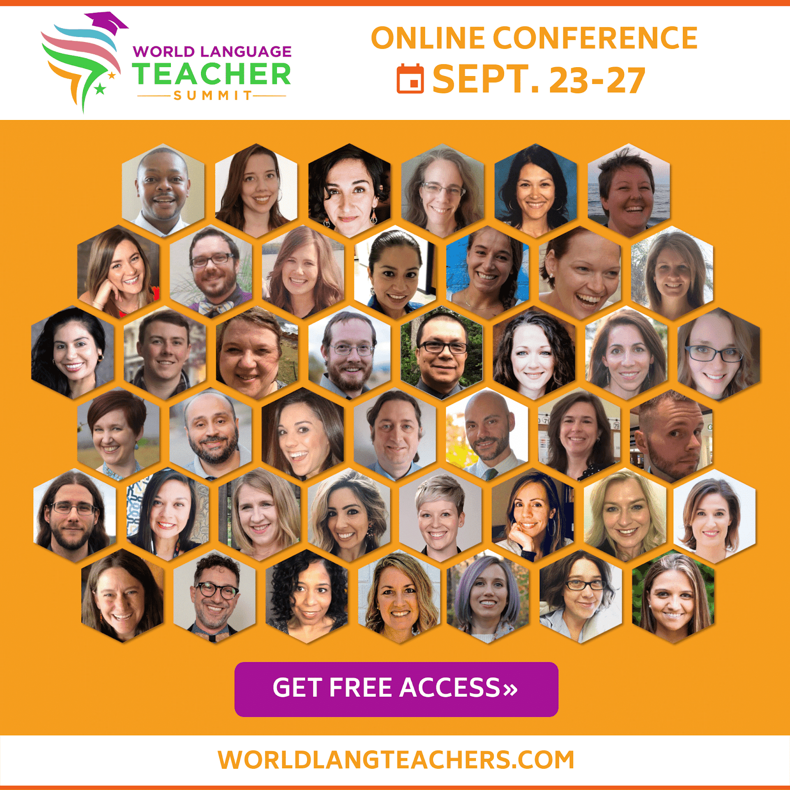 World Language Teacher Summit  - online professional development for World Language teachers - shared by Mis Clases Locas