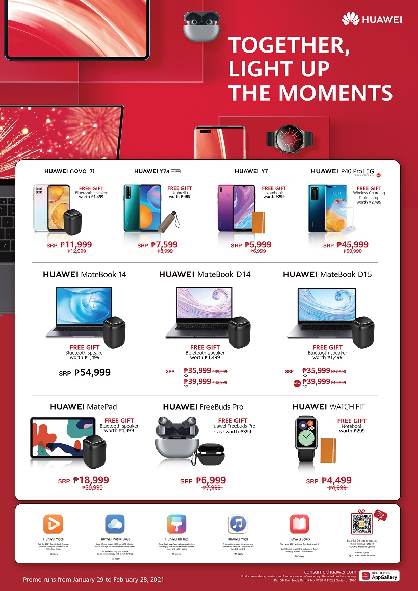 HUAWEI Devices Light Up the Moments Promo Sale