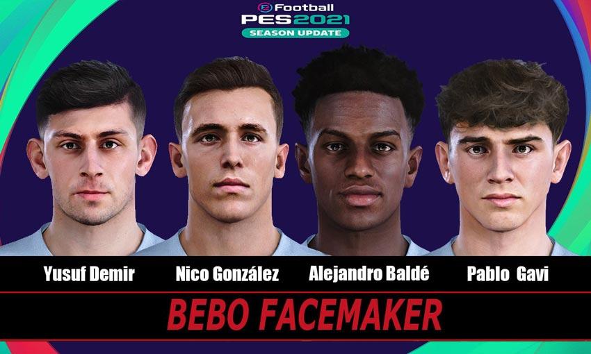 Mini Facepack Barcelona For eFootball PES 2021
