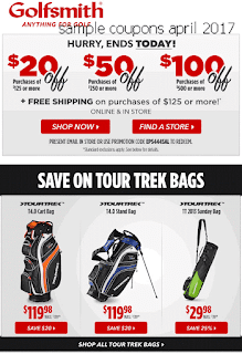 Golfsmith coupons april 2017