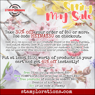 MAY SPRING SALE!