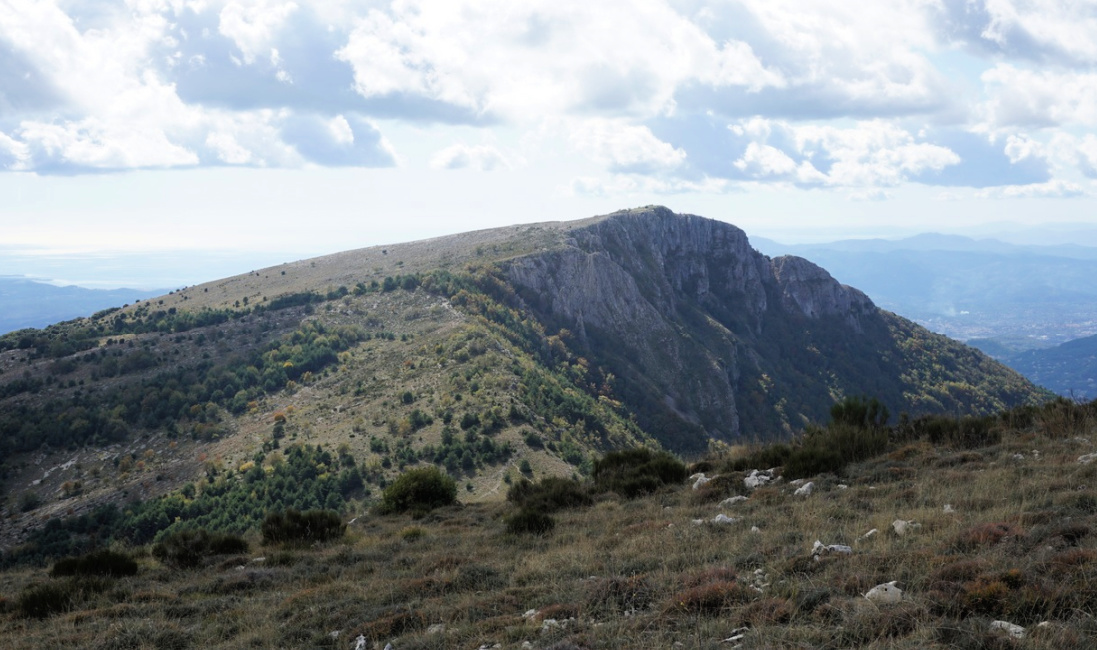 Pic de Courmettes viewed from north