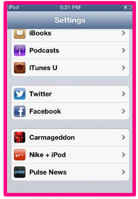 iphone 5 how to delete facebook contacts