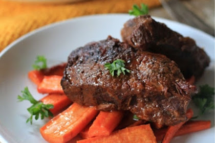 Balsamic Braised Beef Short Ribs