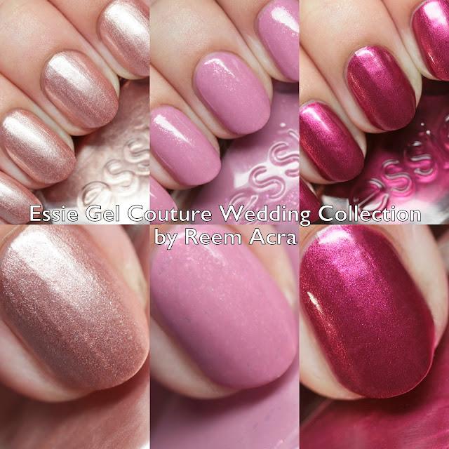 Essie Gel Couture Wedding Collection by Reem Acra
