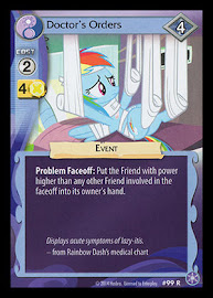 My Little Pony Doctor's Orders The Crystal Games CCG Card