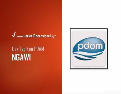 Cek Tagihan PDAM Ngawi