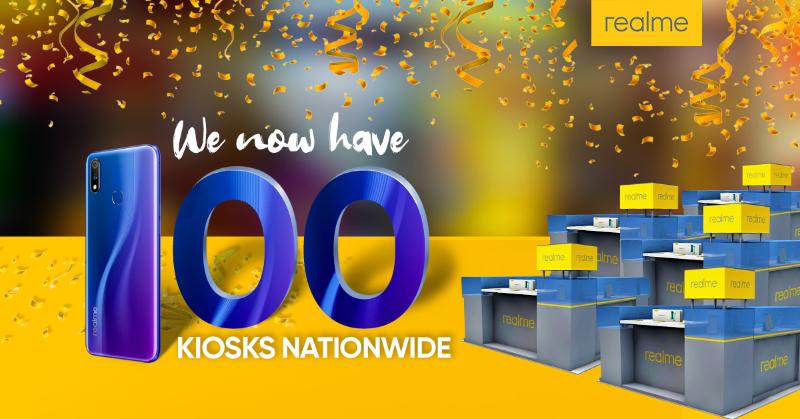 realme Philippines opens 100th kiosk at Pacific Mall Legazpi