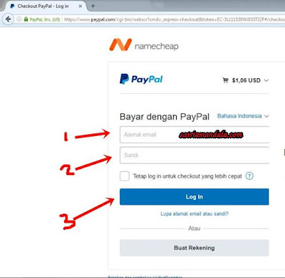 Cara Registrasi Top Level Domain Di Namecheap