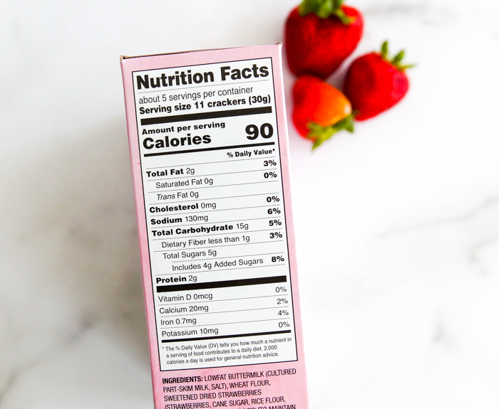 Trader Joe's Strawberry and Jalapeño Crisps Nutrition Info and Review