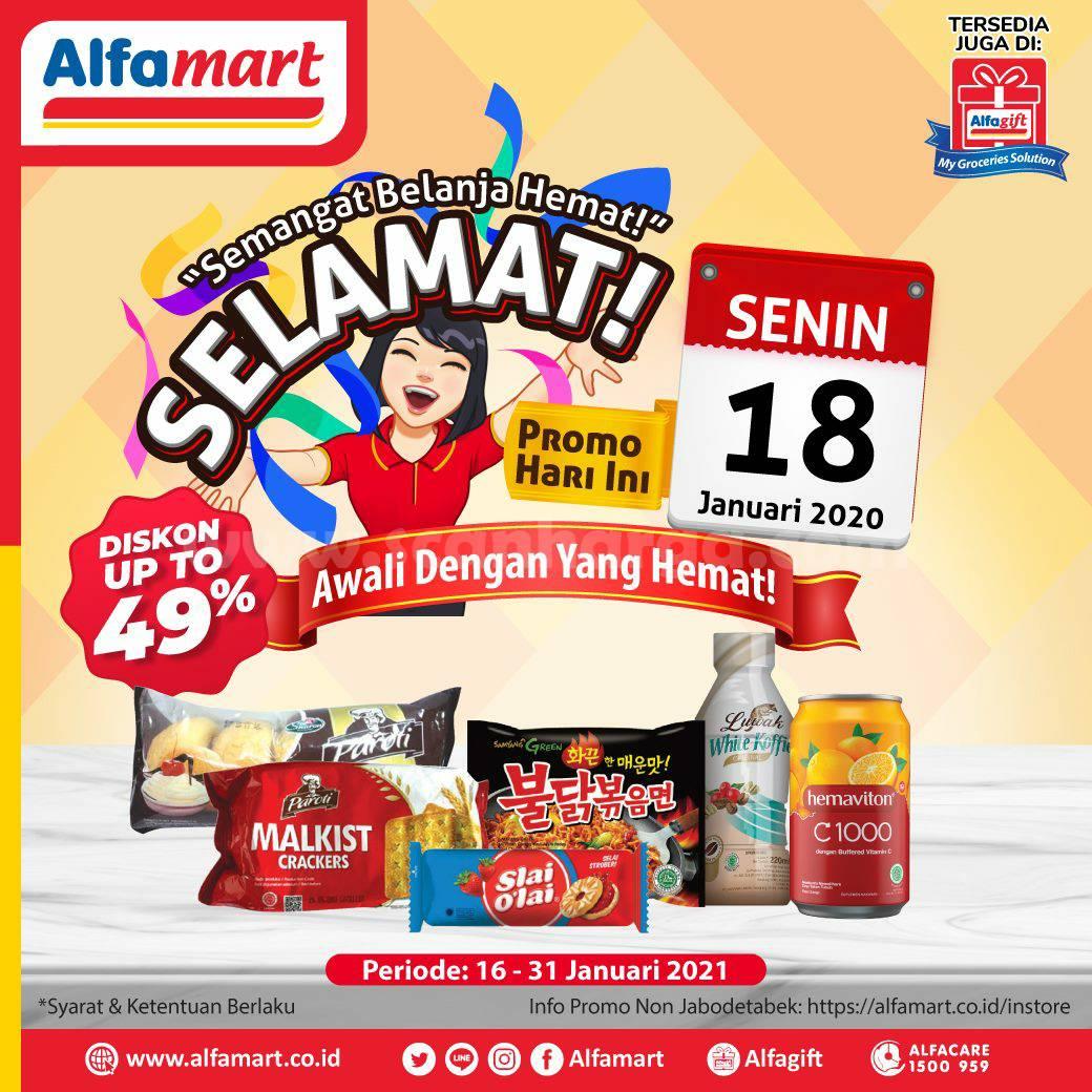Katalog Alfamart Sehari Periode Promo 18 Januari 2021