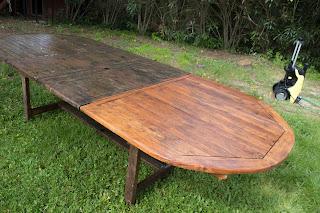 aceitar mobiliario exterior con teka