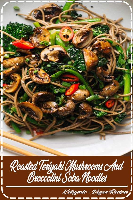 but after eating too many of their soggy roasted teriyaki mushrooms and broccolini soba noodles