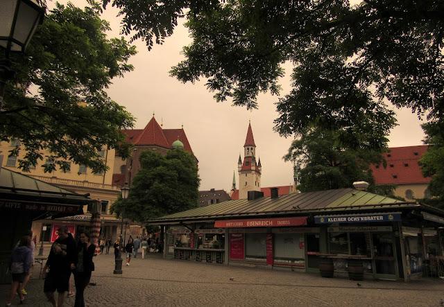 Viktualienmarkt O que ver em Munique Alemanha