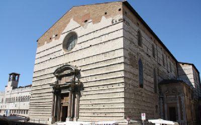 La Cattedrale di San Lorenzo a Perugia. Uno dei lupoghi piu' belli da vedere.