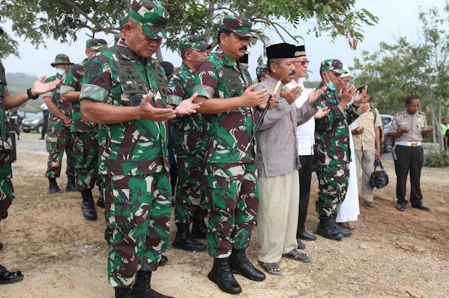 Panglima TNI Gelar Doa Bersama di TPU Poboya Palu
