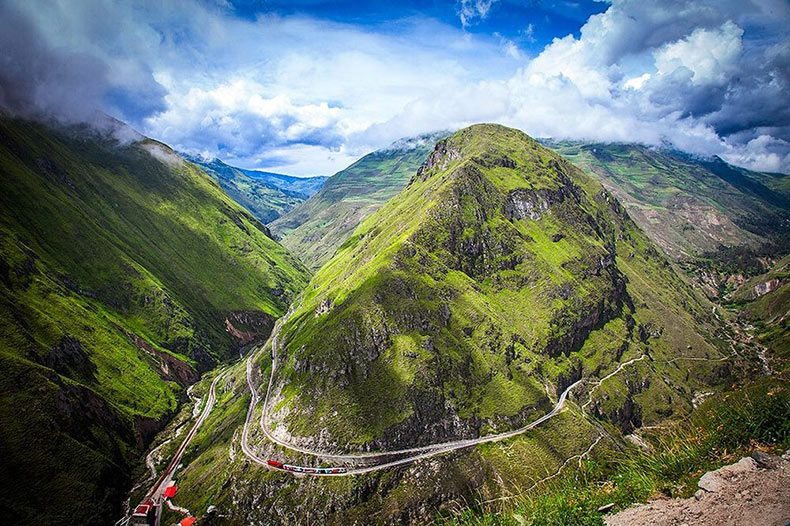 El ferrocarril de la Nariz del Diablo | Ecuador