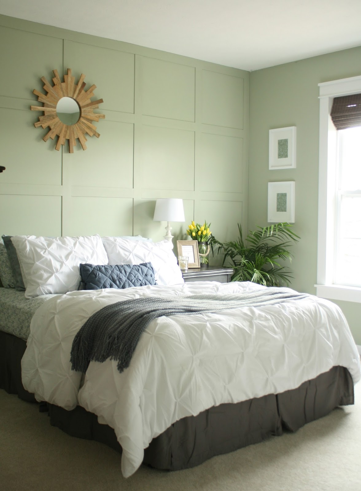 softened green paint color
