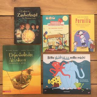 Im Zeichen der Zauberkugel, Der verrückte Erfinderschuppen, Pernilla von Silke Schlichtmann, Elefantastische Abenteuer, Bitte blubb blubb rette mich