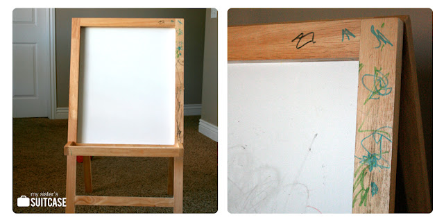 before art easel
