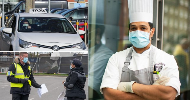 Security guards, chefs and taxi drivers have the highest risk of dying from the novel Coronavirus