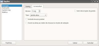 Dicas para utilizar o ScreenGrab