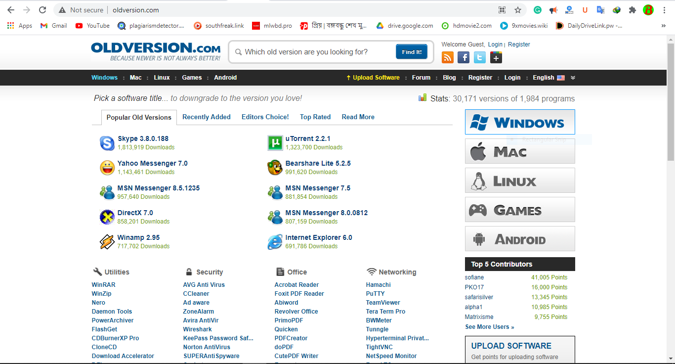 www.oldversion.com