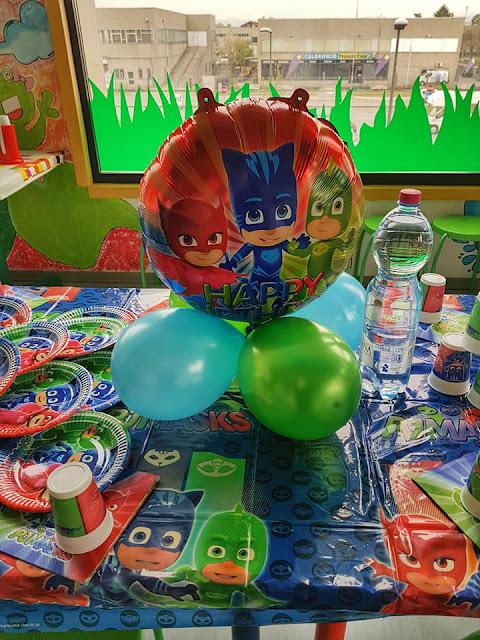 Festa a tema Super pigiamini - PJ Mask
