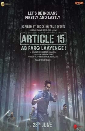 Article 15 Hindi 950MB HDRip 720p Full Movie Download