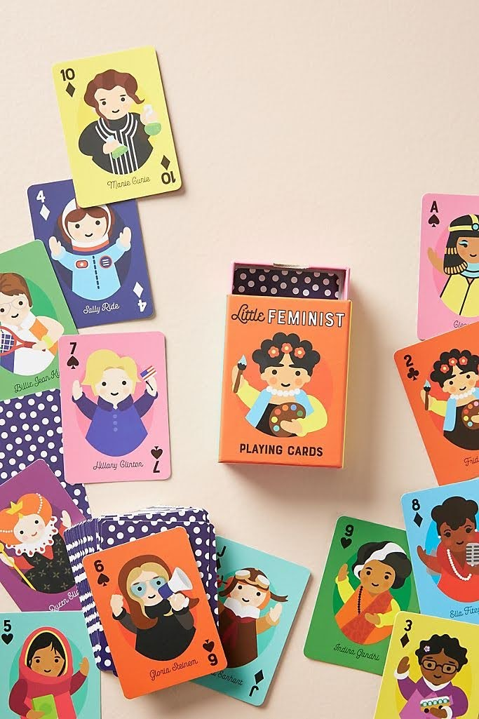 Little Feminist Playing Cards | Anthropologie