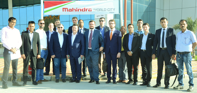 Mahindra World City, Jaipur welcomes Russian trade delegation seeking to explore areas of cooperation for 'Make in India'