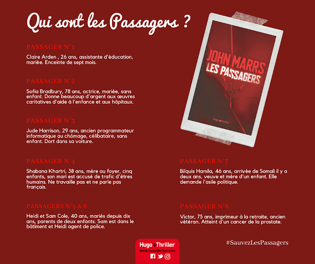 Les passagers John Marrs avis chronique happybook