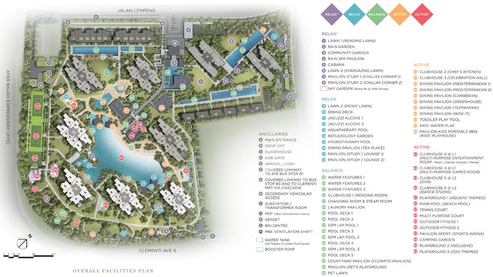Parc Clematis Site Plan
