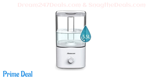 30% OFF Aromacare 5.5L Cool Mist Humidifier