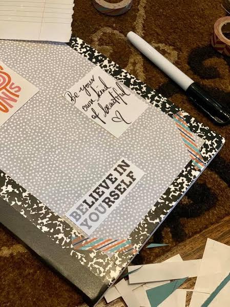 Crafty Texas Girls Bullet Journals For Teens