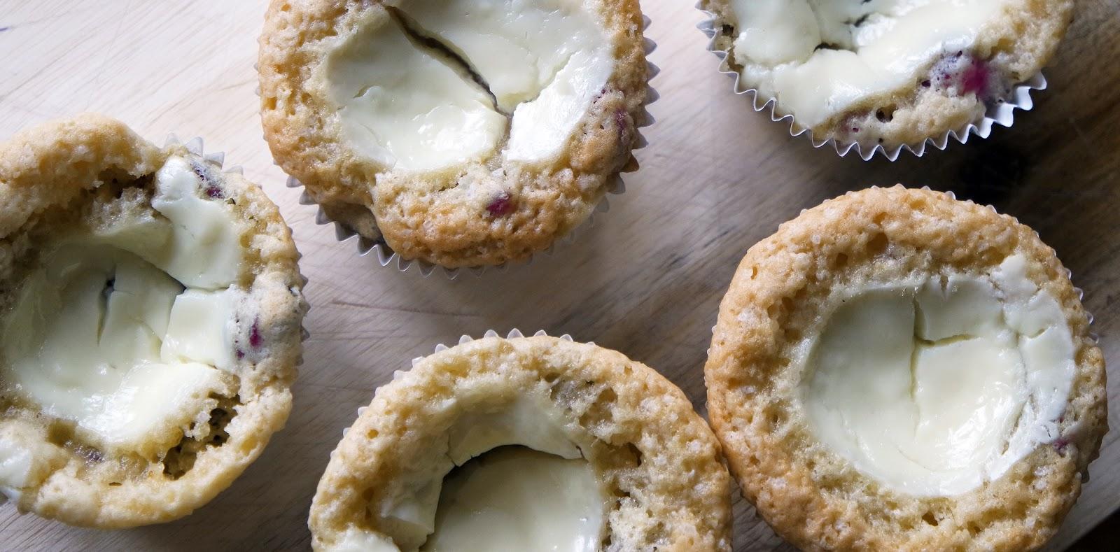 Kitchen Elf: Cranberry cheesecake muffins