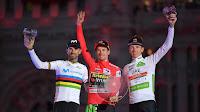 CICLISMO EN RUTA - La Vuelta España 2019: Roglic logra su primer grande con Valverde subcampeón