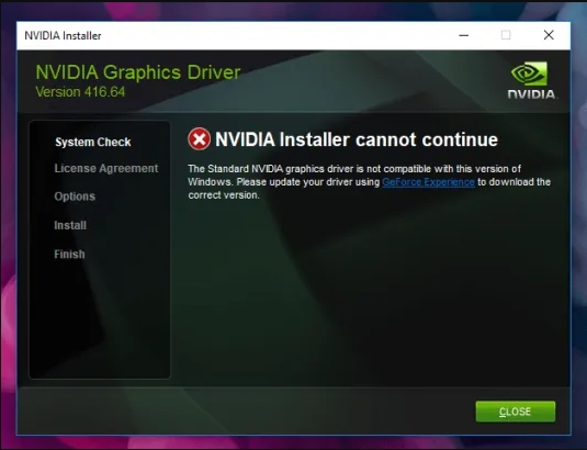 Solved: NVIDIA Installer Cannot Continue Error on Windows 10