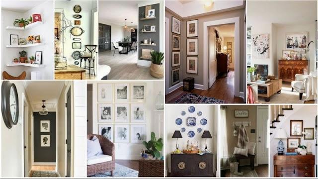 Ιδέες και τρόποι για να αξιοποιήσετε διακοσμητικά Στενούς Τοίχους του σπιτιού