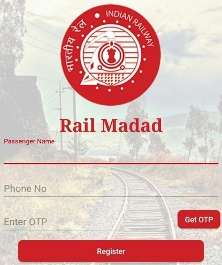 IRCTC Rail Madad App – Register Your Complaint Online for Train / Station