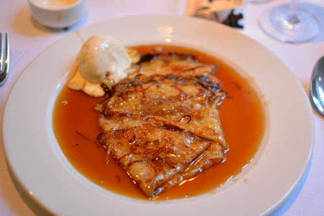 Crepes Suzette A La Victor Brasserie Gustave London