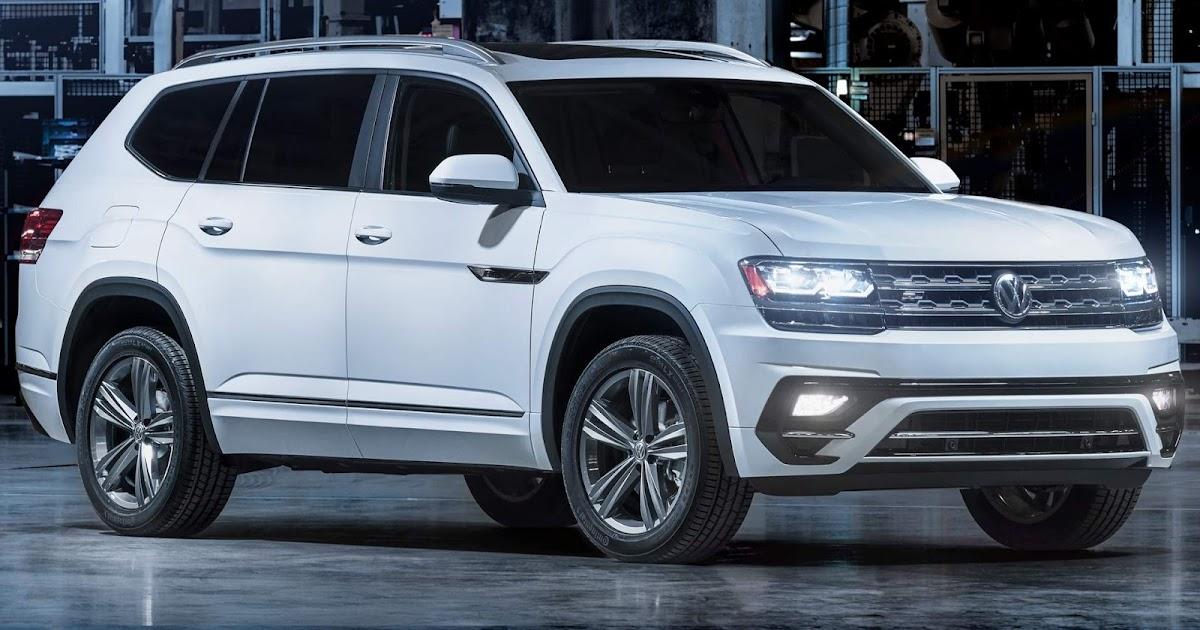 Ford Atlas 2018 >> Volkswagen Atlas recebe pacote esportivo R-Line opcional | CAR.BLOG.BR - Carros