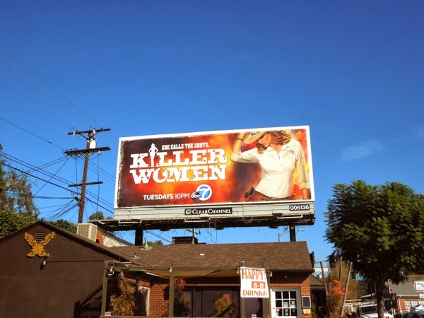 Killer Women ABC series billboard
