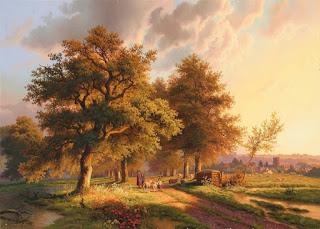 vistas-campesinas-arte-realista cuadros-oleo-panoramas-rurales