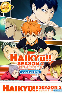 Anime Haikyuu!! 2 Legendado