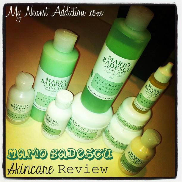 Mario Badescu Skincare Review My Newest Addiction
